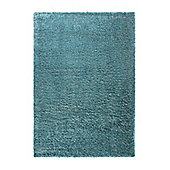 Esprit Cosy Glamour Turquoise Woven Rug - 133 cm x 200 cm (4 ft 4 in x 6 ft 7 in)