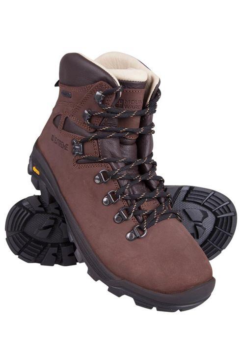 Buy Excalibur Womens Nubuck Leather Waterproof Hiking ...