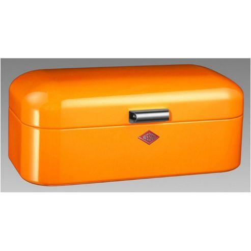 buy wesco grandy bread bin in orange from our bread bins. Black Bedroom Furniture Sets. Home Design Ideas
