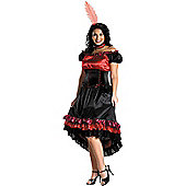 Can Can Cutie Costume (Plus Size)