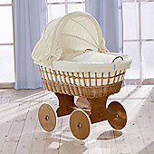 Leipold Naturell Wicker Hood Crib