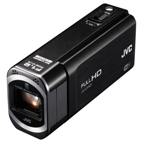 JVC Everio GZ-VX715BEK Camcorder, HD, 3