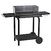 Tesco Rectangular Trolley Charcoal BBQ, 58.5 x 116cm
