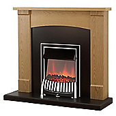 Adam Lonsdale Electric Fireplace Suite
