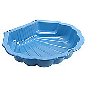 Tesco Shell Sand Pit, Blue