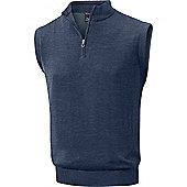 Mizuno Mens Hayate Sweater Vest - Blue
