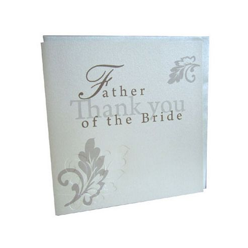 Wedding Gift List Tesco : ... Bride Wedding Thank You Card from our All Wedding Gifts rangeTesco