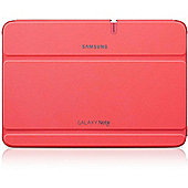 "Samsung Leather Effect Flip Cover Case for Samsung Galaxy Note 10.1""- Pink"