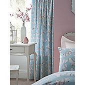 Catherine Lansfield Bohemian Butterfly 66x72 Cotton Rich Curtains Fully Lined Curtains 168x183cm Multi