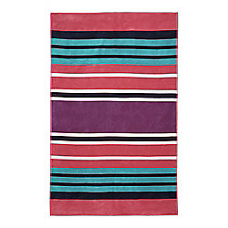 Dickins & Jones Pink Stripe Beach Towel