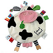 Label Label Friends Comfort Blankie (Cow)