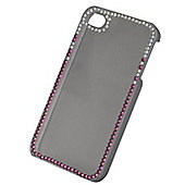 Tortoise™ Look Decorative Protective Case, iPhone 4/4S, Clear/Gems