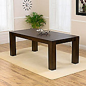 Mark Harris Furniture Madrid Solid Oak Dark Dining Table