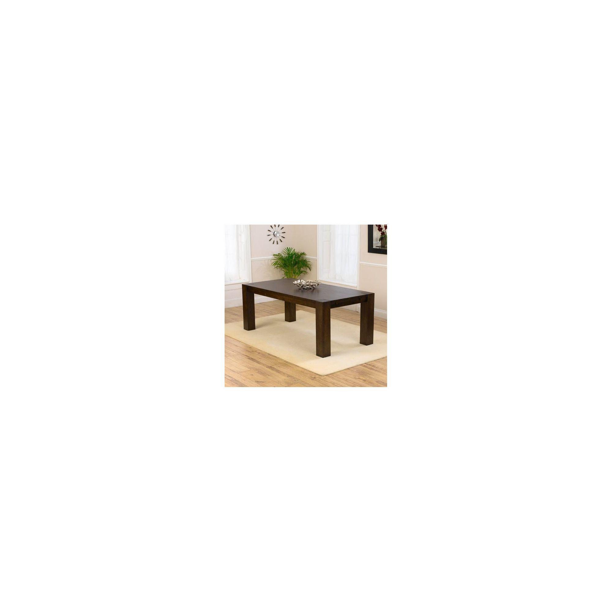 Mark Harris Furniture Madrid Solid Oak Dark Dining Table