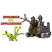 How To Train Your Dragon 2 Battle Pack - Belch and Barf Vs. Zipplecatcher