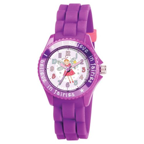 Tikkers Lilac Fairy Watch