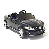 Kids Electric Car Jaguar XFR 12 Volt Blue Gloss