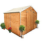 BillyOh 400 8 x 8 Windowless Overlap Apex Shed