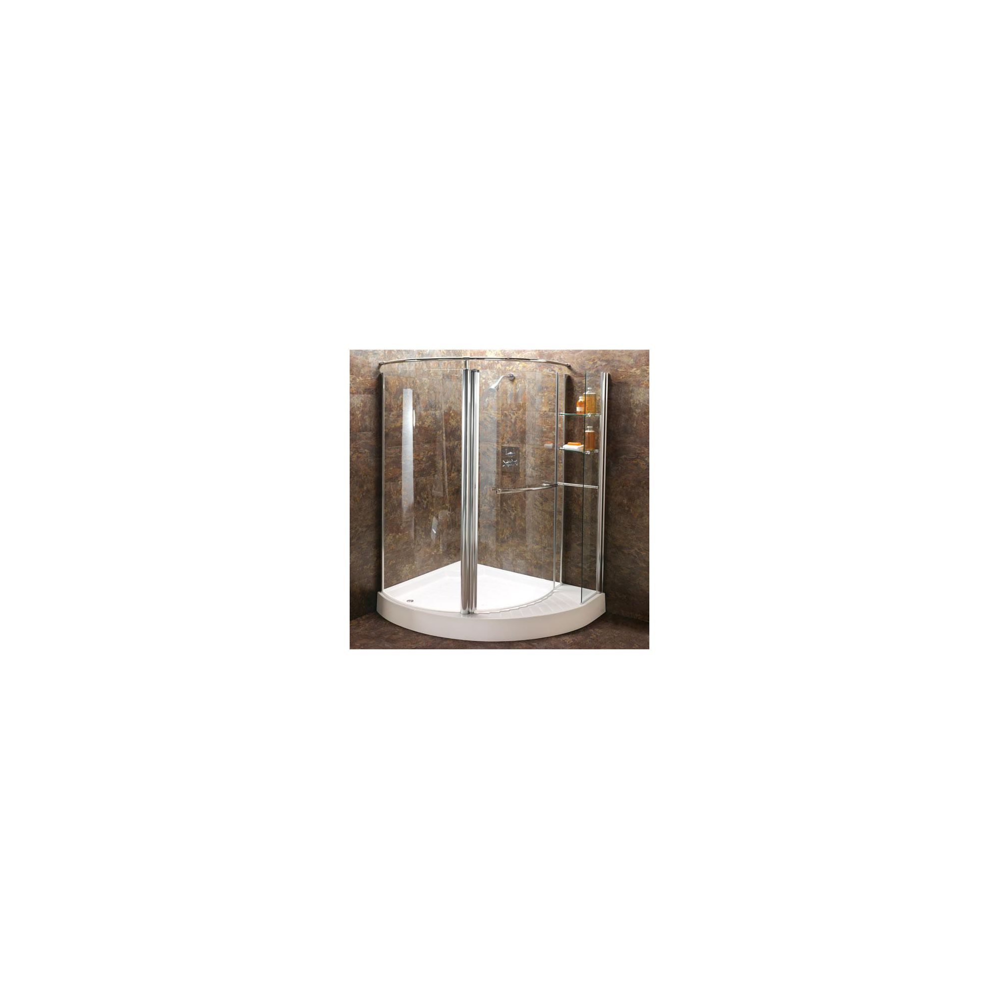Balterley Offset Quadrant Shower Door, 1250mm x 1000mm Wide, Left Handed, 6mm Glass at Tesco Direct