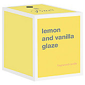 Prices Candle Jar Lemon And Vanilla Glaze