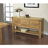 Ametis Santana Blonde Oak Hall Table