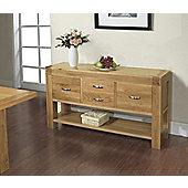 Rustic Grange Santana Blonde Oak Hall Table