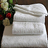 Homescapes Turkish Cotton White Bath Towel