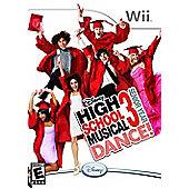 High School Musical 3 - Senior Year DANCE! - NintendoWii