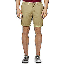 F&F Chino Shorts Waist 34 Tan