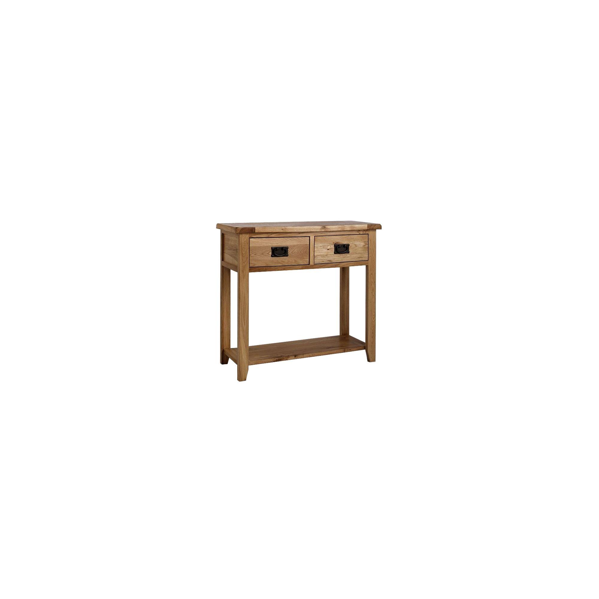 Westbury Reclaimed Oak Console Table