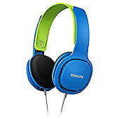Philips SHK2000BG/10 Kids On-Ear Headphone - Blue & Green