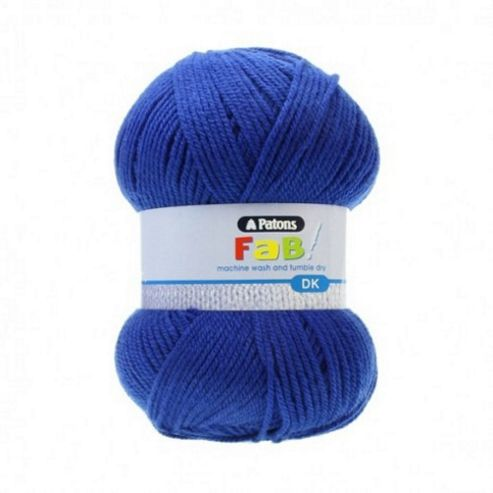 Patons FaB DK Yarn 100g - Blue