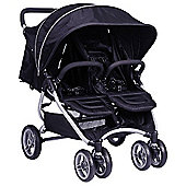 Red Kite Push Me Twini Jogger, Carbon