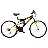 Flite Taser 26 Inch 18-Speed Dual Suspension Mens' Mountain Bike