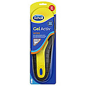 Scholl Gel Activ Insole Work - Men