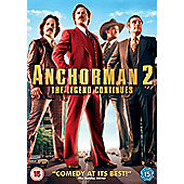 Anchorman 2: The Legend Continues - DVD