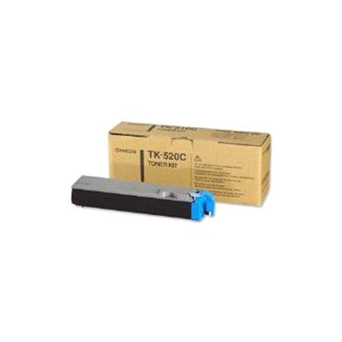 Kyocera TK-520C Cyan (Yield 4000 Pages) Toner Cartridge for FS-C5025N/5015N Printers