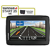 "Tom Tom Start 25 Sat Nav, 5"" LCD Touch Screen, Western Europe Maps"