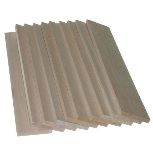 Balsawood 9.6 x 75 x 450 mm Bulk Pack 10