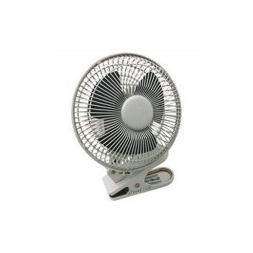 Q-Connect KF00401 6 inch Clip On Fan, 2 Speed - White