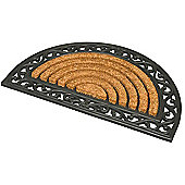 JVL Karina Haft Moon Rubber Tuffscrape Indoor / Outdoor Mat