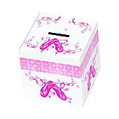 Kids Ballet Shoes Money Box