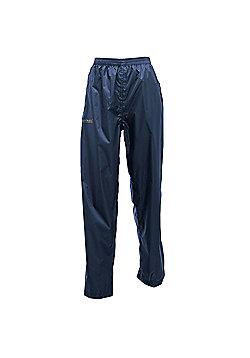 Regatta Ladies Pack It Waterproof Overtrousers - Navy