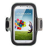 Belkin Slim Fit Neoprene ArmBand with built in screen protection for Samsung S4 in Black
