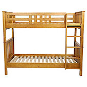 Harvey Oak Effect Bunk Bed