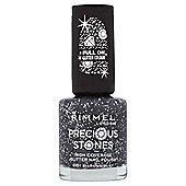 Rimmel London Precious Stones High Coverage Glitter Nail Polish 001 Diamond Dust 8ml