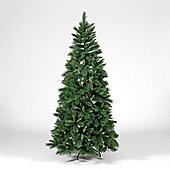 7ft Emerald Hardneedle Pine Green Artificial Christmas Tree