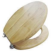 Tesco light wood toilet seat