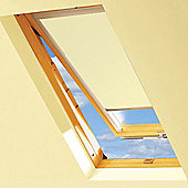 Cream Blackout Roller Blinds For VELUX Windows (3 / 410 / P10)