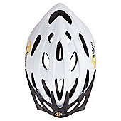 Via Velo Women's Cycle Helmet 54-58cm, White